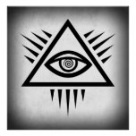 EYE of PROVIDENCE ANCIENT SYMBOL Posters