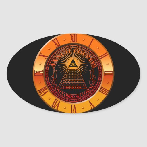 Eye of Providence clock