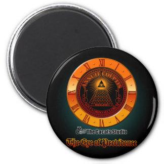 Eye of Providence clock Magnet
