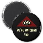 Eye Of Providence Fridge Magnet