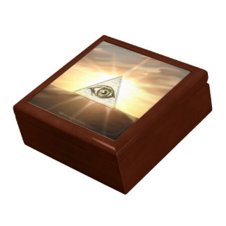 Eye Of Providence Jewelry Boxes
