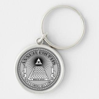 Eye of Providence Keychain