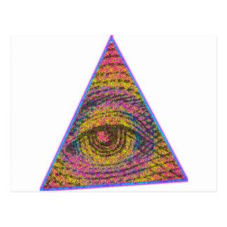Eye of Providence Postcard