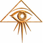 Eye of Providence Stone Acrylic Cut Outs