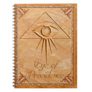 Eye of Providence Stone Notebooks