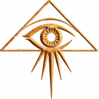Eye of Providence Stone Statuette
