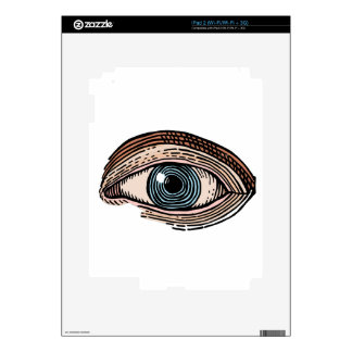 Eye of Providence (transparent) Decal For iPad 2