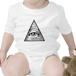 Eye of Providence Baby Bodysuits