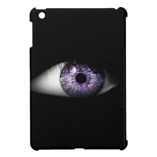 Eye of Purple Fun Cool Eyeball Design Case For The iPad Mini