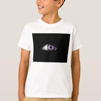 Eye of Purple Fun Cool Eyeball Design T-Shirt
