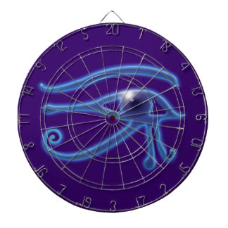 Eye of Ra Ancient Egyptian Wadjet Symbol Dart Board