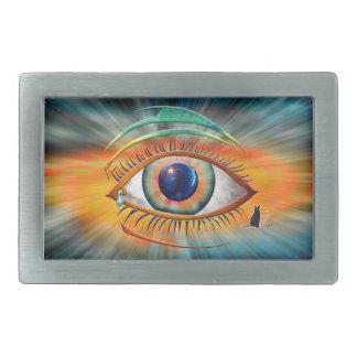 Eye of Ra Oblong Belt Buckle