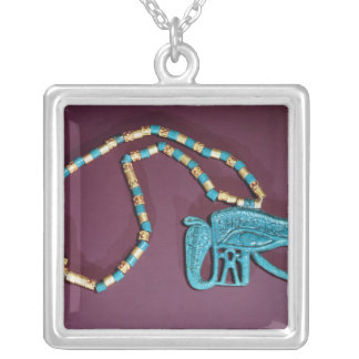 Eye of Ra pectoral, from the Tomb of Silver Plated Necklace