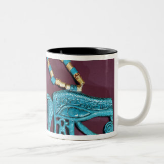 Eye of Ra pectoral, from the Tomb of Two-Tone Coffee Mug