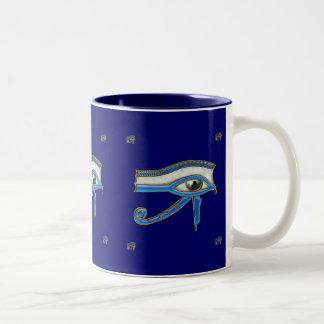 Eye of Ra Wadjet Egyptian Art Mug