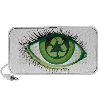 Eye of Recycle iPod Speaker