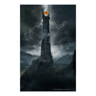 Eye of Sauron Composition Poster