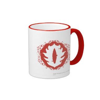 Eye of Sauron Icon Ringer Coffee Mug