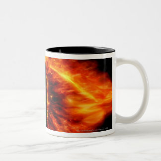 Eye of Sauron Two-Tone Coffee Mug