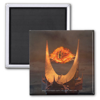 Eye of Sauron tower 2 Inch Square Magnet