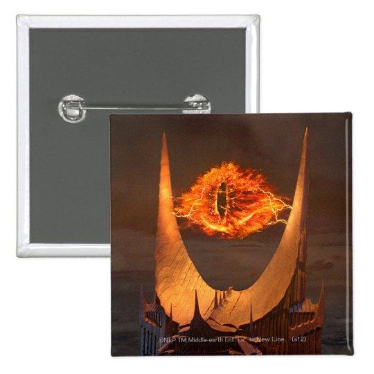 Eye of Sauron tower Pinback Button