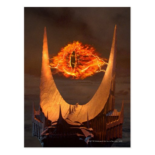 Eye of Sauron tower Post Cards