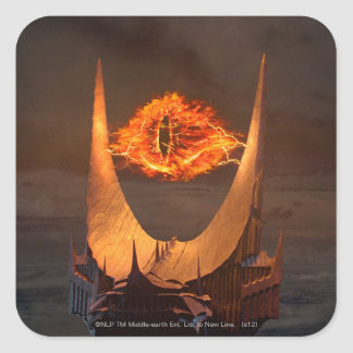 Eye of Sauron tower Square Sticker