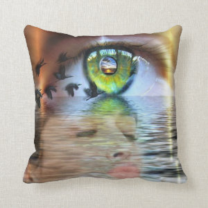 Eye of the beholder PIllow