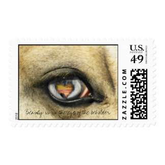 Eye of the beholder postage