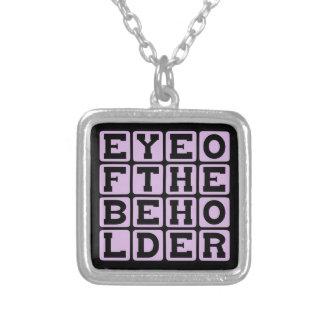 Eye Of The Beholder, Vessel of Beauty Custom Necklace