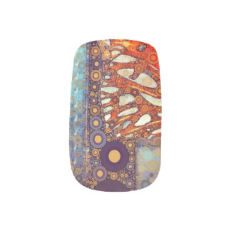 Eye of the Butterfly Minx Nail Wraps