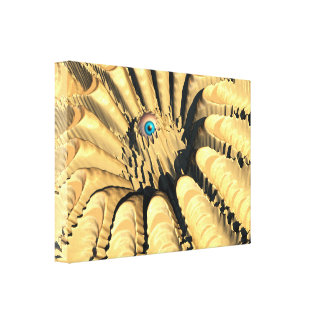 Eye of The Crater Canvas Print
