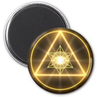 Eye of the Divine Round Magnet