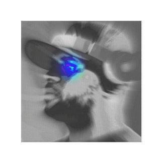 Eye of the DJ Canvas Print