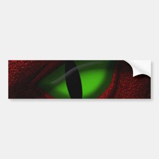 Eye of the Dragon Bumper Sticker