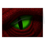Eye of the Dragon Greeting Card