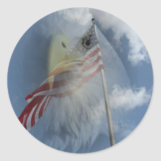 Eye of the Eagle - Sticker