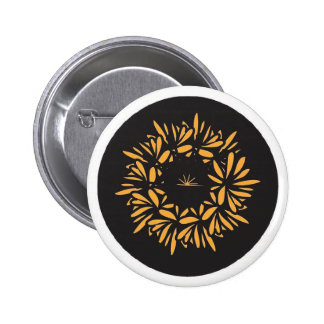 Eye of the Flower Pinback Button