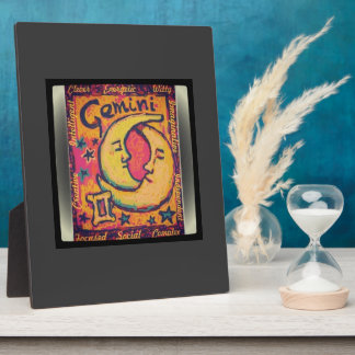 Eye of the Gemini Collection Photo Plaque