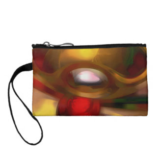 Eye of the Gods Pastel Abstract Change Purse