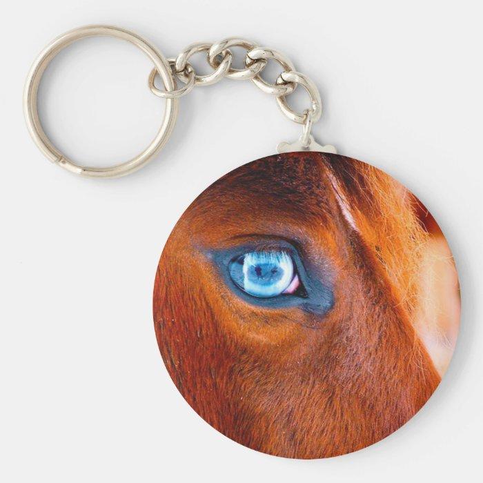 Eye of the Horse Keychain