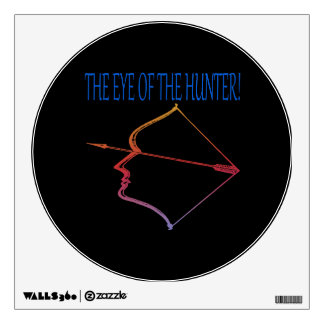 Eye Of The Hunter 3 Wall Decal