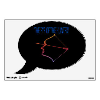 Eye Of The Hunter 3 Wall Sticker