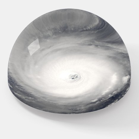 Eye of the Hurricane Paperweight