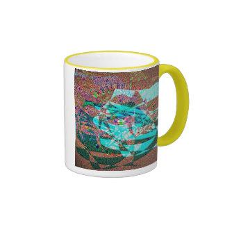 Eye of the Painter Ringer Coffee Mug