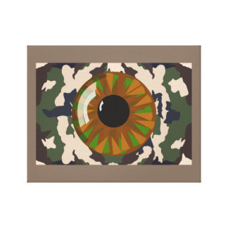 EYE OF THE SOLDIER CANVAS PRINT