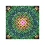 Eye of the Star Kaleidoscope Canvas Print