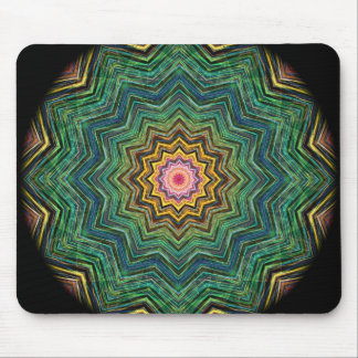 Eye of the Star Kaleidoscope Mouse Pad