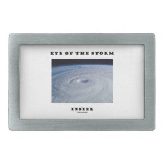 Eye Of The Storm Inside (Hurricane's Eye) Belt Buckle