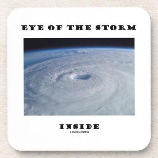 Eye Of The Storm Inside (Hurricane's Eye) Drink Coaster
